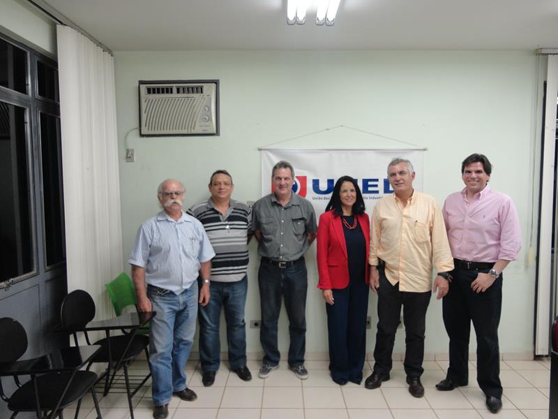 Secretaria Municipal de Desenvolvimento e Turismo Visita UNEDI