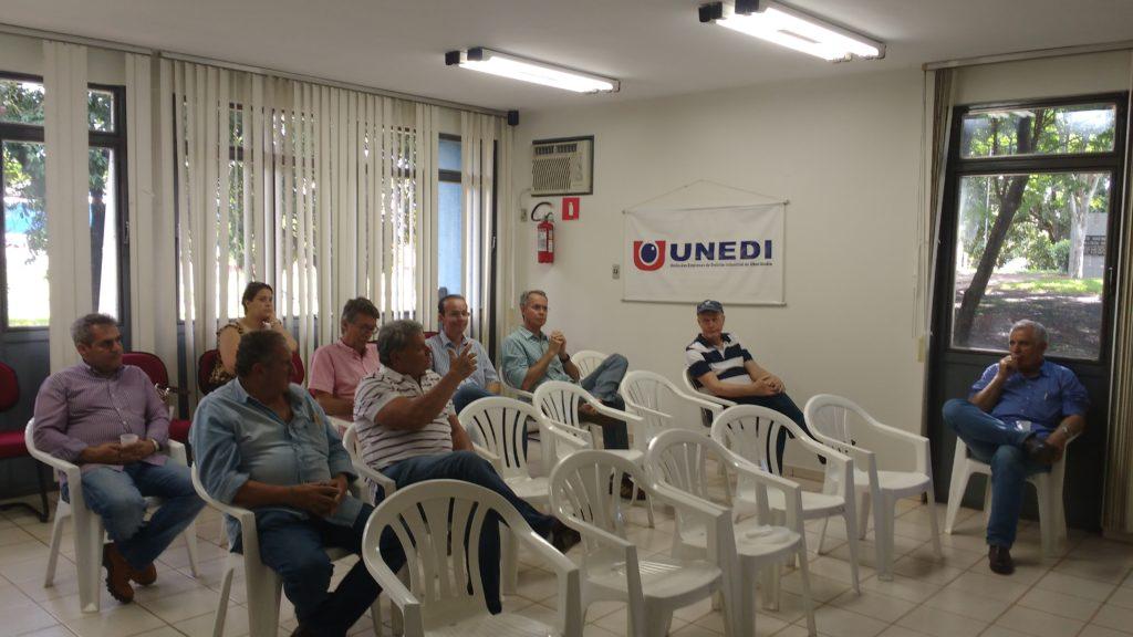UNEDI Reúne com Empresários para discutir Revitalização do Distrito Industrial De Uberlândia