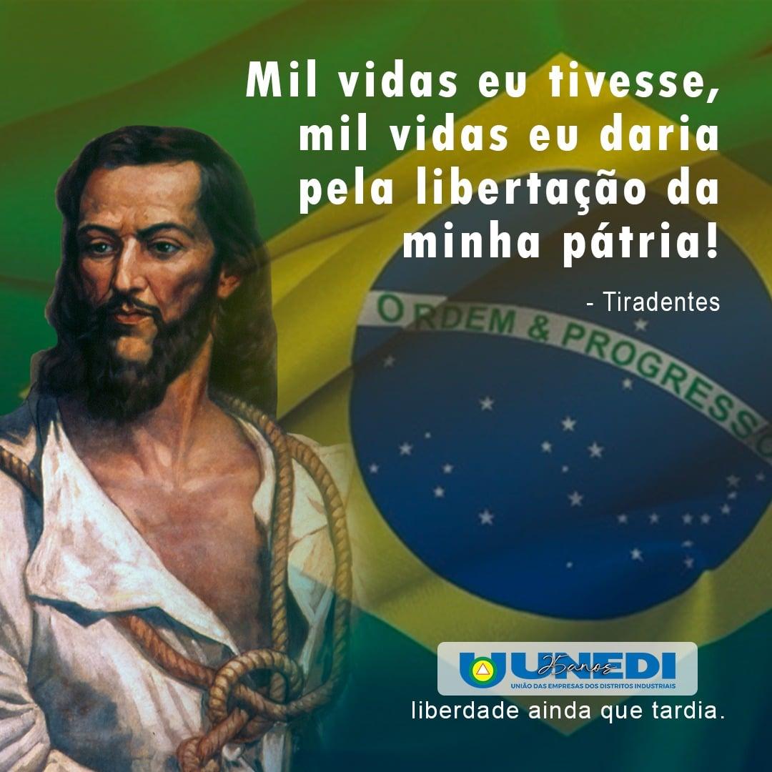Read more about the article 21 de Abril Homenagem a Tiradentes